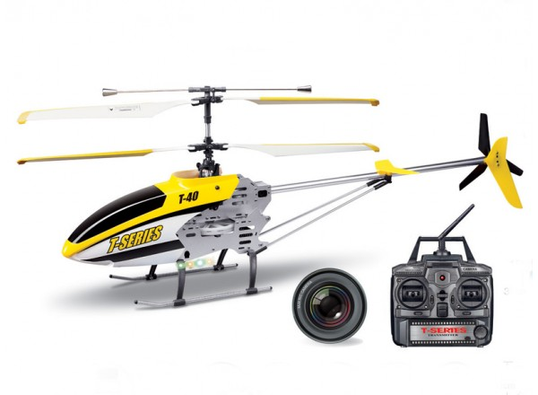 MJX - радиоуправляемый вертолет MJX T40C Shuttle с камерой и картой памяти