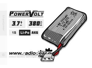 Li-Po PowerVolt 380 mAh 3.7v