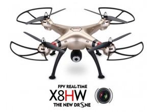 Syma x8hw FPV - дрон с WiFi камерой HD+