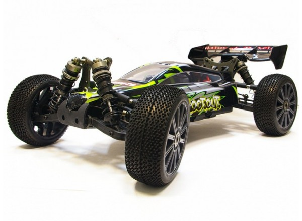 Himoto SHOOTOUT 1/8 - багги BRUSHLESS 4WD