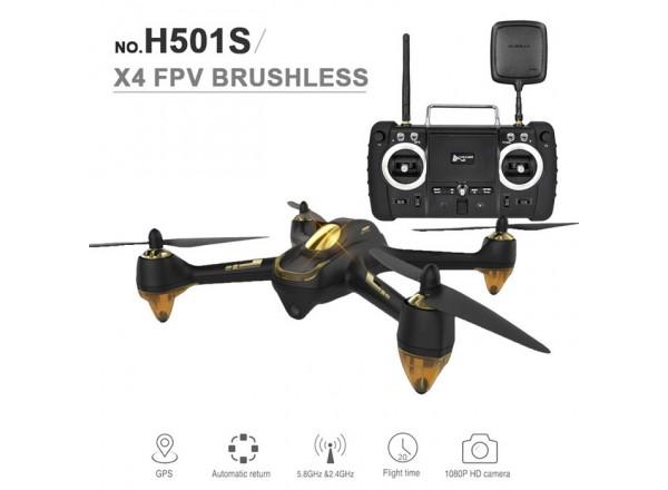 Hubsan H501S ver. PRO Full HD+ FPV / GPS Go