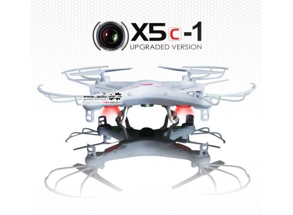 Syma - радиоуправляемый квадрокоптер Syma X5c Phantom c видеокамерой 2.4Ghz