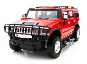 Hummer H2 1:24 - радиоуправляемый автомобиль MZ Model Hummer H2