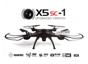 Syma x5sc HD+ Upgrade - дрон с видеокамерой
